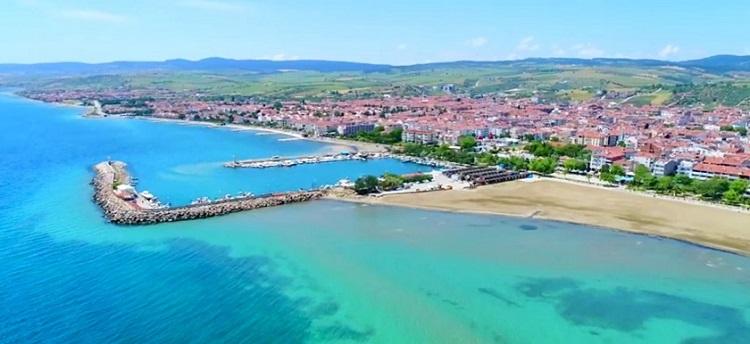 What is the Tekirdağ Şarköy sea like